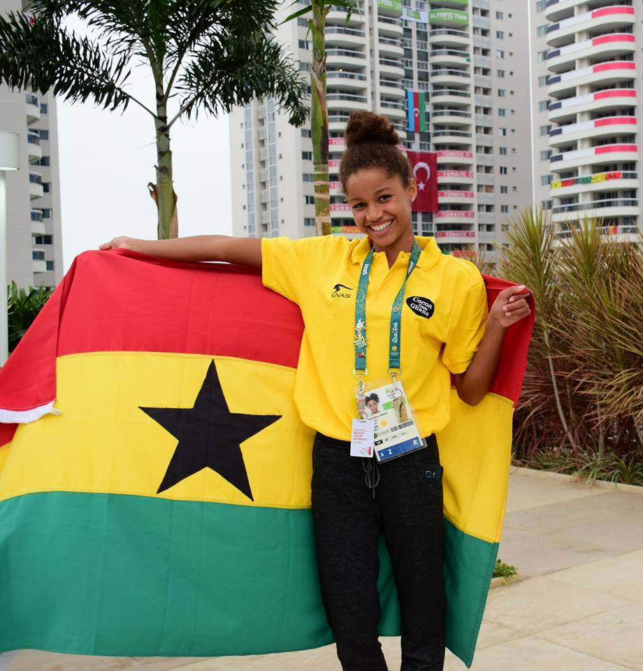 The Future is Still Bright for the 14-year-old Kaya Adwoa Forson, Ghana's First Female Olympic Swimmer