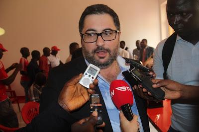 Sérgio Marques, president of Benefica de Bissau