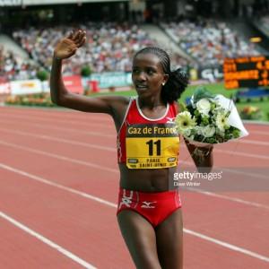 Victoire Tirunesh DIBABA - 5000m - 08.07.2006 - Meeting Gaz de France - Golden League - Stade de France - Saint-Denis Photo : Dave Winter / Icon Sport