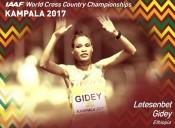 Ethiopia's Letesenbet Gidey Defends U-20 Crown at World Cross Country Championships in Kampala