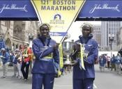 Double Win for Kenya at the Boston Marathon