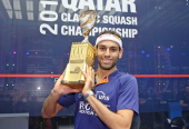 Mohamed ElShorbagy Claims 28th Title of His Career after Winning the Qatar Classic