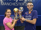 Egyptians Raneem El Welily and Mohamed ElShorbagy Made History at the 2017 PSA World Champions, the Most Prestigious of Titles.