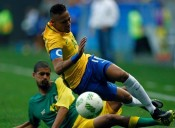 Boos and Jeers as South Africa's Spirited Defense Upsets Brazil