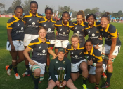 The Springbok Women's Sevens confidently defend the African rugby title