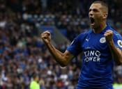 Algeria's Islam Slimani Scores Brace on Leicester Debut