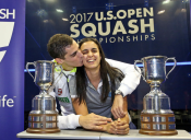 Egyptians Storm the U.S. Open Finals in Both Categories But it was a Historic Major Title Win for Married Couple El Tayeb & Ali Farag