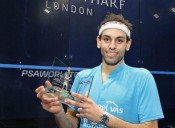 Egyptian, Mohamed ElShorbagy Makes History at Canary Wharf Classic