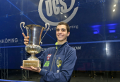 Egypt's Ali Farag Wins Swedish Open.