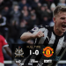 Newcastle Downed United 1-0
