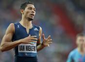 South Africa's Wayde van Niekerk Makes History in the 300m Race